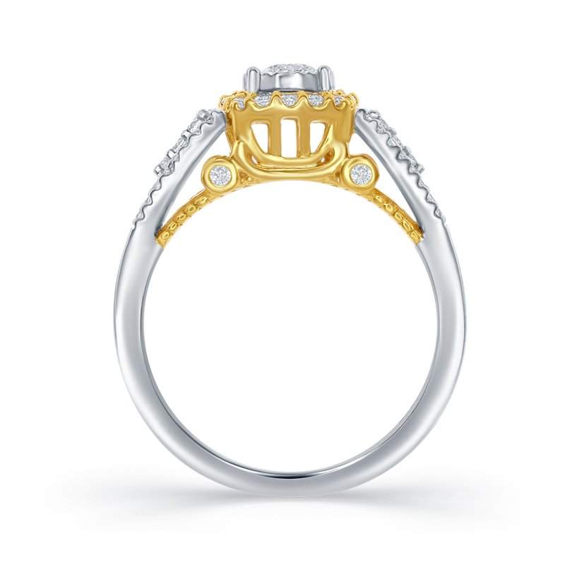 Veer Diamonds ANTONELLA CARRIAGE RING