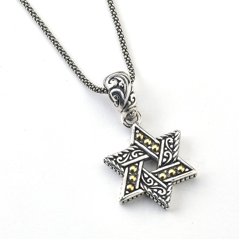 Samuel B David'S Star Pendant