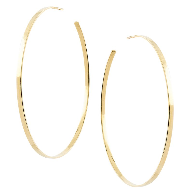 Lana Jewelry Large Sunrise Hoops