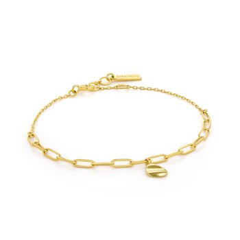 Crush Drop Disc Bracelet
