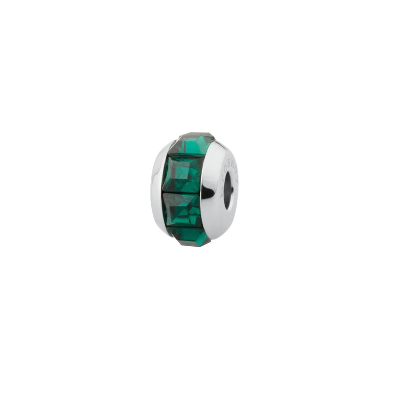 Brosway 316L stainless steel and green emerald Swarovski® Elements crystals.