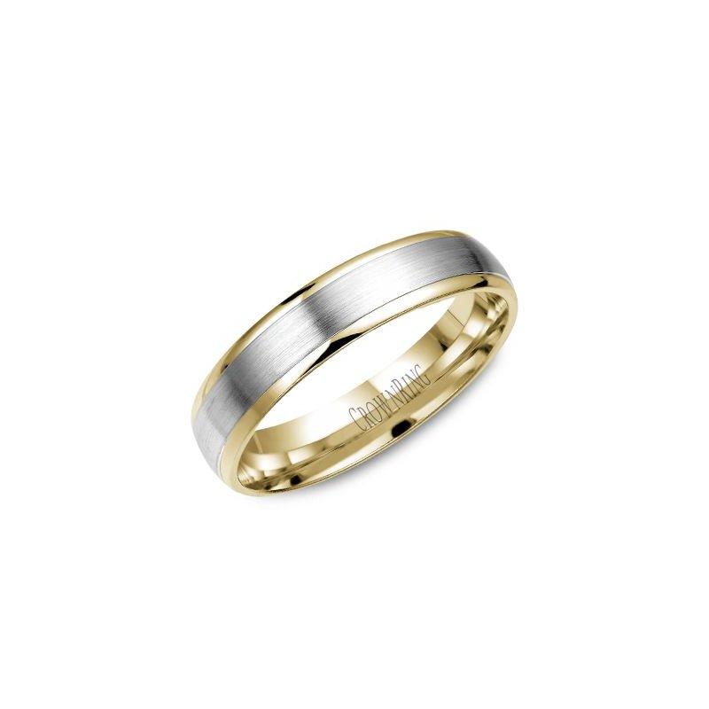 Crownring Men S Wedding Band Wb 7145
