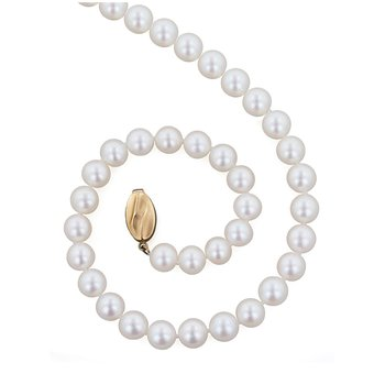 "Cultured Pearl 18"" Necklace"