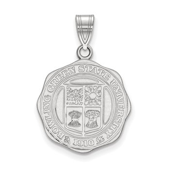 Sterling Silver Bowling Green State University NCAA Pendant