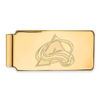 Gold Colorado Avalanche NHL Money Clip
