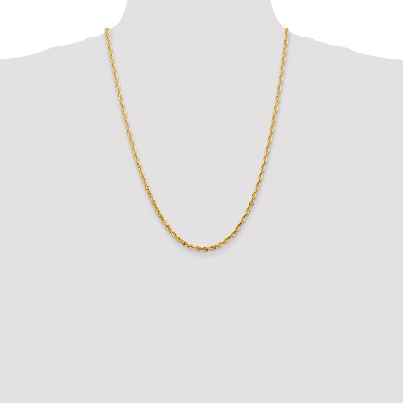 JC Sipe Essentials 14k 4mm Extra-Light D/C Rope Chain