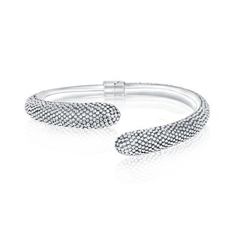 Dotted Open Bangle