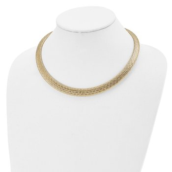 Leslie's 14k Two-tone Fancy Necklace