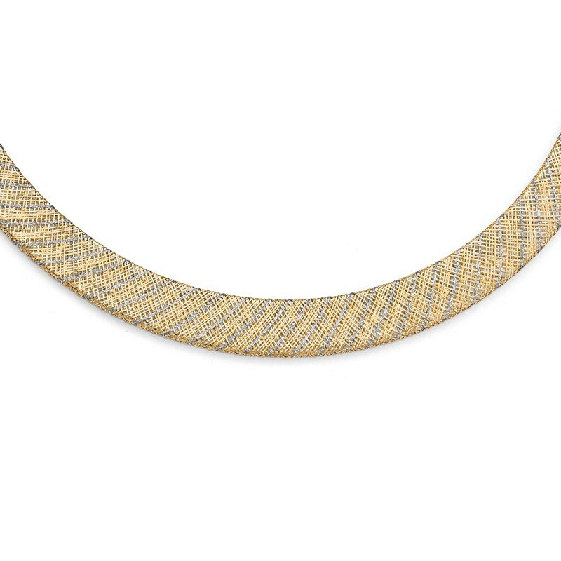 Leslie's Leslie's 14K Two-tone Fancy Necklace