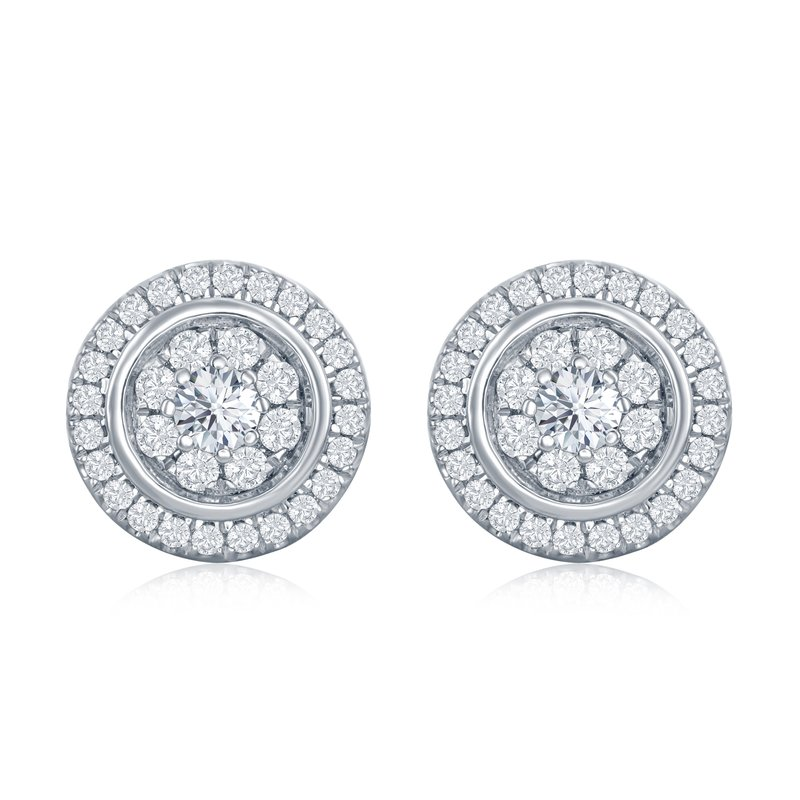 Veer Diamonds MELODY CIRCLE STUDS