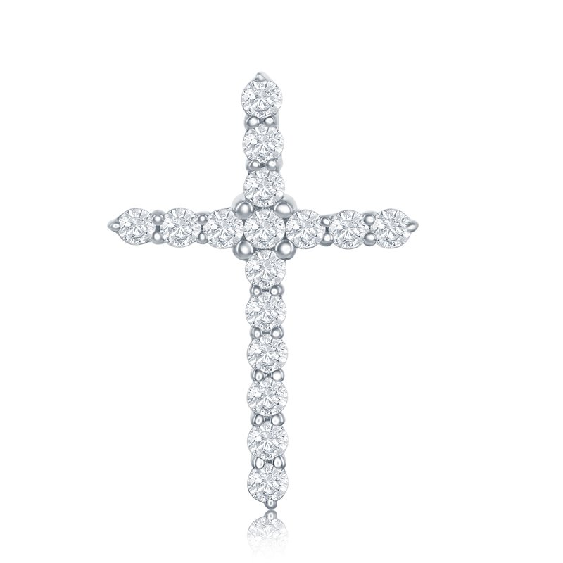 Veer Diamonds CLASSIC CROSS PENDANT
