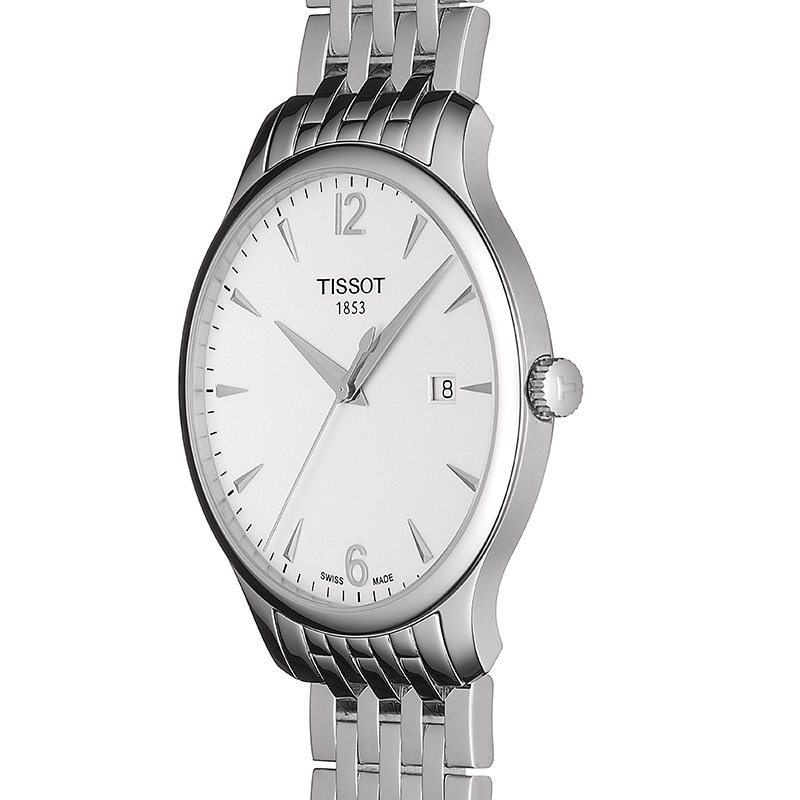 Tissot Tradition Men's Quartz Stainless Steel Silver Watch