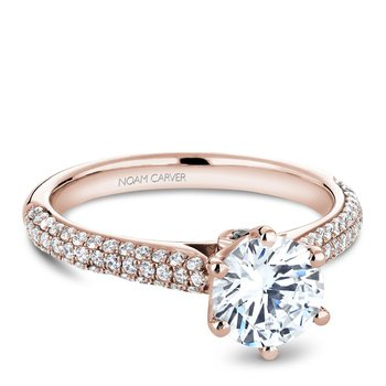Noam Carver Vintage Engagement Ring B146-17RA