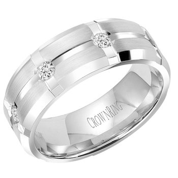CrownRing Men's Wedding Band WB-7276