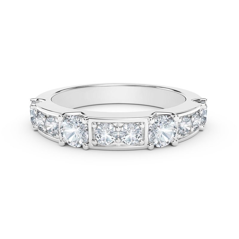 Forevermark Black Label The Forevermark Tribute™ Collection Diamond Row Ring