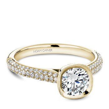 Noam Carver Vintage Engagement Ring B146-13YA