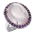Eleganza Ladies Fashion Gemstone Ring