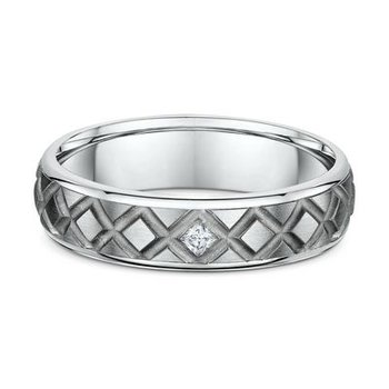 Titanium Mens Diamond