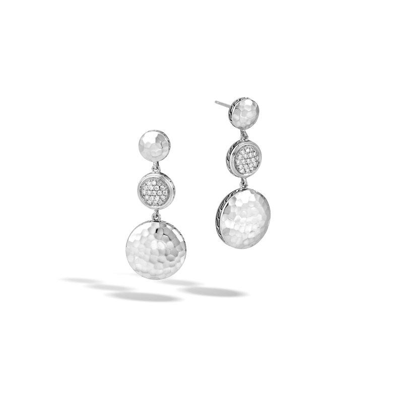 dcedcbc8d John Hardy Dot Triple Drop Earrings. Stock # EBP344432DI