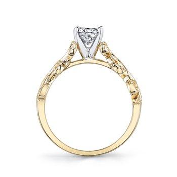 MARS 26504 Diamond Engagement Ring 0.07 Ctw.