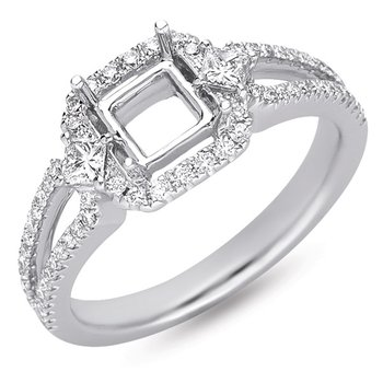 Platinum Engaement Ring