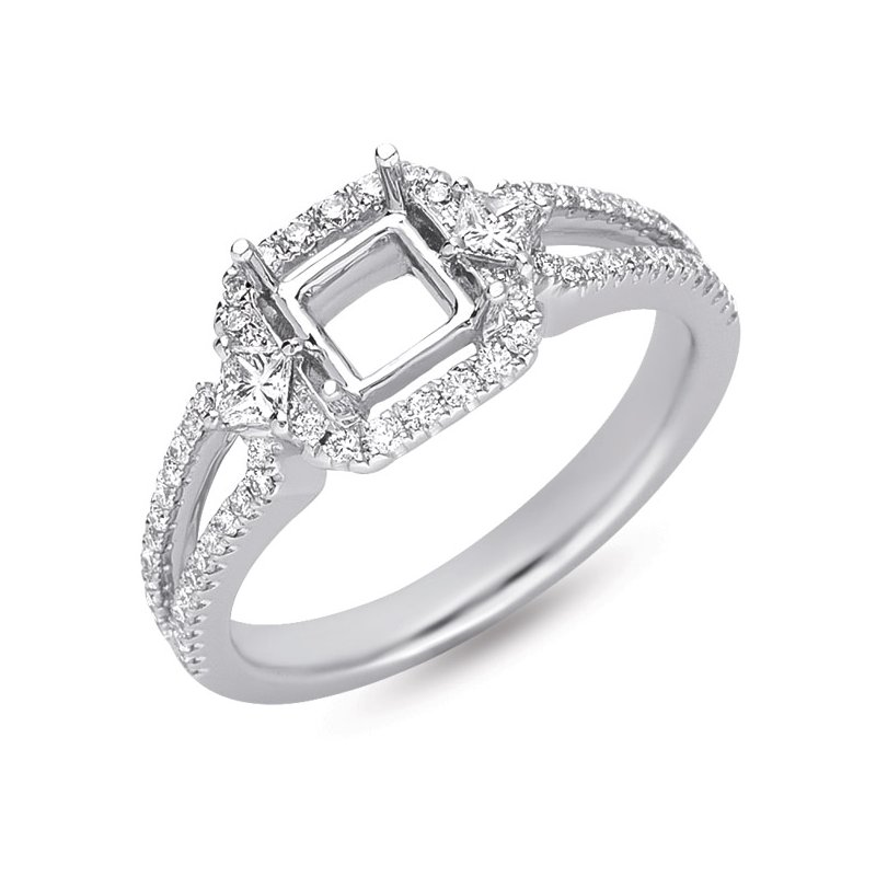 S. Kashi & Sons Bridal Platinum Engaement Ring