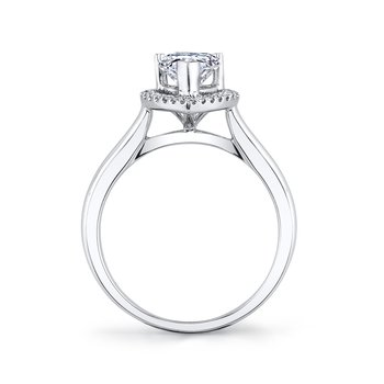 26499 Diamond Engagement Ring 0.11 ct tw