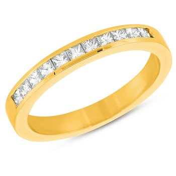 Yellow Gold Princess Band