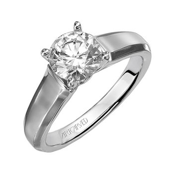 Classic Cathedral Solitaire Ring
