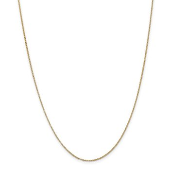 14k 1.15mm Rolo Pendant Chain