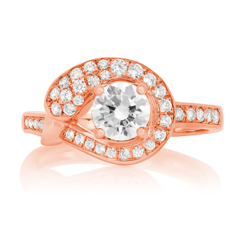 Veer Diamonds CHANSON SWAN RING