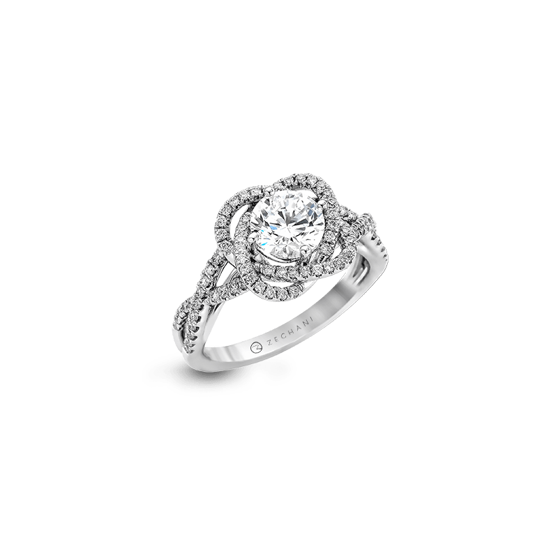Zeghani ZR744 ENGAGEMENT RING