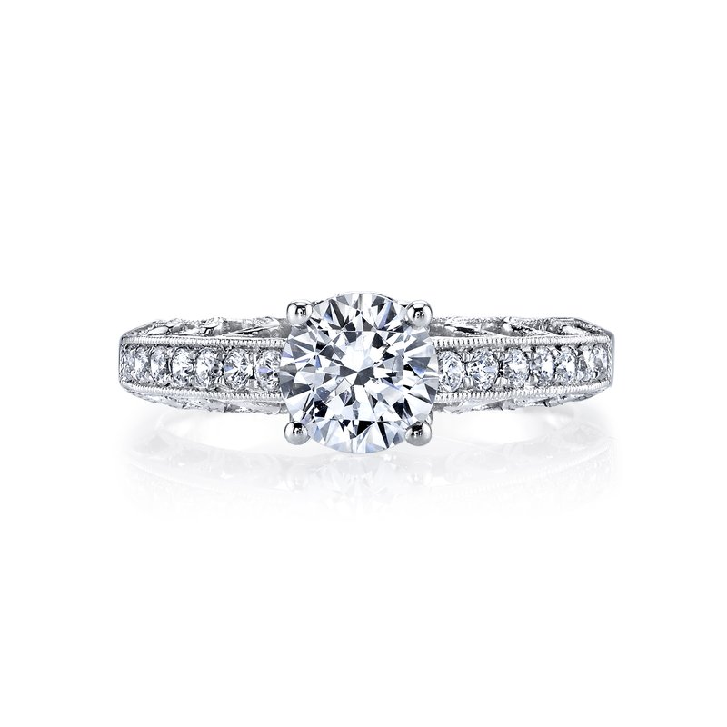 MARS Jewelry MARS 26001 Diamond Engagament Ring 0.25 Ctw.