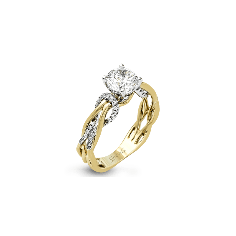 Simon G MR2514 ENGAGEMENT RING