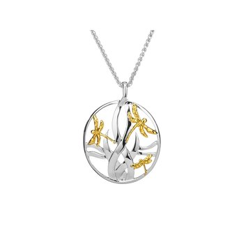 Dragonfly in Reeds Pendant Large