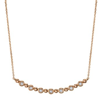MARS 26818 Fashion Necklace, 0.07 Ctw.