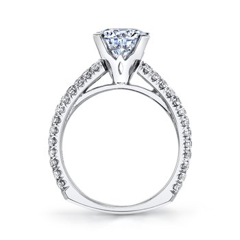 MARS R247 Diamond Engagement Ring, 1.25 Ctw.