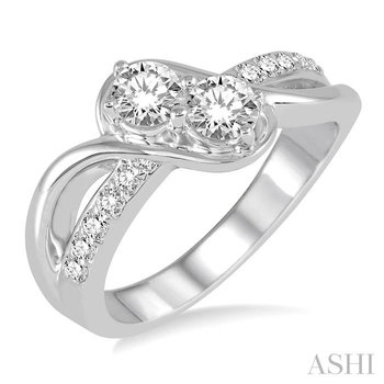 2stone diamond ring