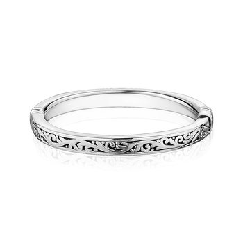 Closed Paisley Bangle