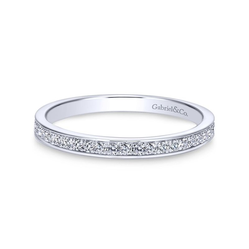 Gabriel Bridal Platinum Matching Wedding Band