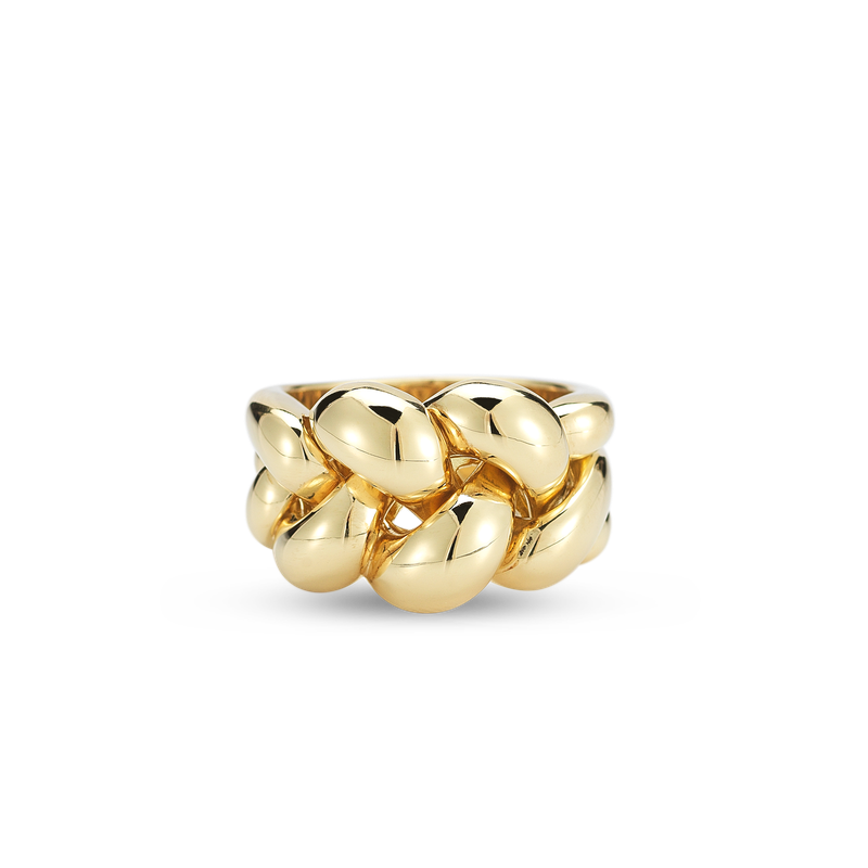 Roberto Coin 18KT GOLD KNOT RING