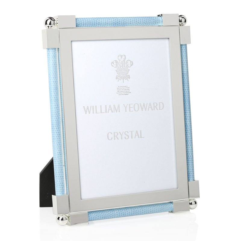 "William Yeoward Classic Shagreen Light Blue 5"" x 7"""
