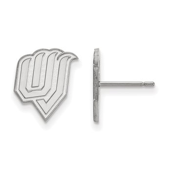 Sterling Silver Utah Valley State University NCAA Earrings