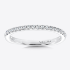 Valina Diamond and 14K White Gold Wedding Ring (0.2 ct. wt.)