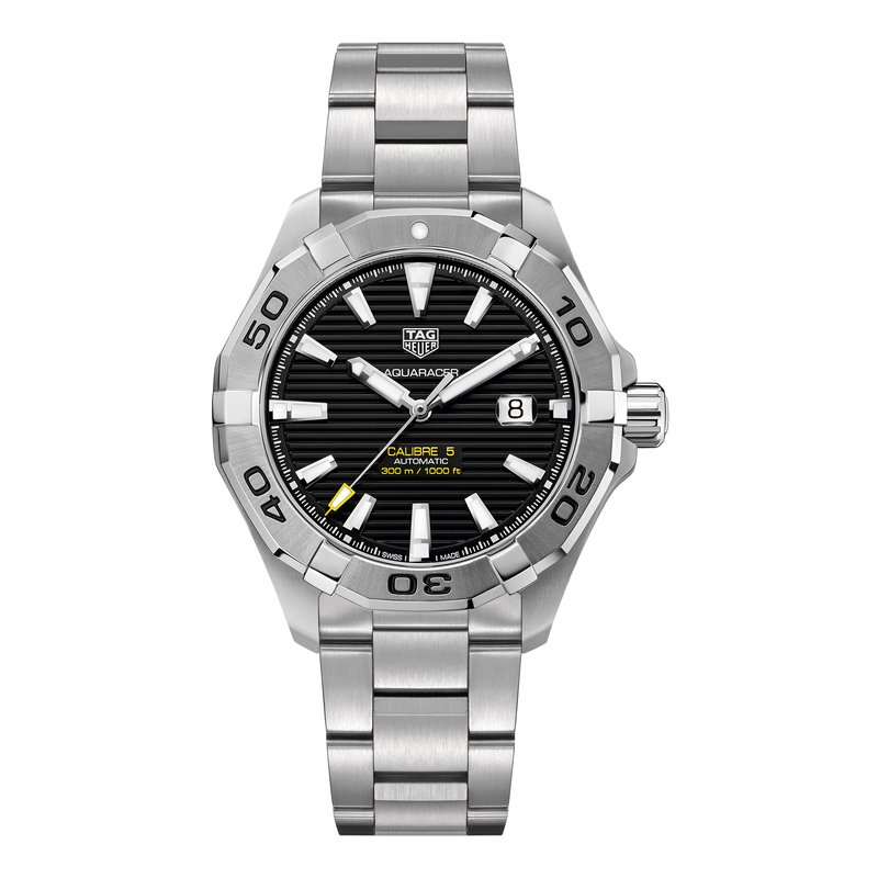 Tag Heuer - USD Aquaracer 300M Steel Bezel Calibre 5 Automatic Watch