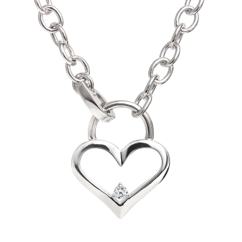 Canadian Rocks Heart Locket Bracelet