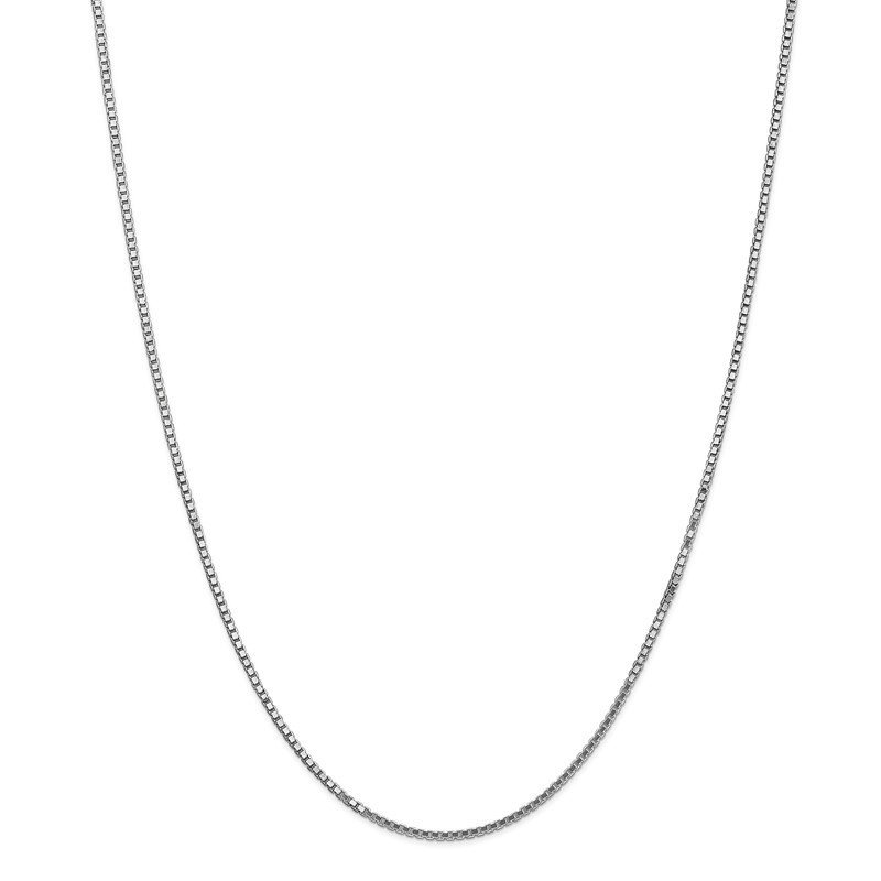 Lester Martin Online Collection 14k WG 1.5mm Box Chain