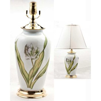 Special Edition White Tulip Lamp