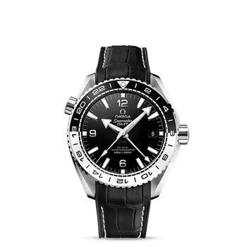 Seamaster Planet Ocean 600M Omega Co-axial Master Chronometer GMT 43.5 mm