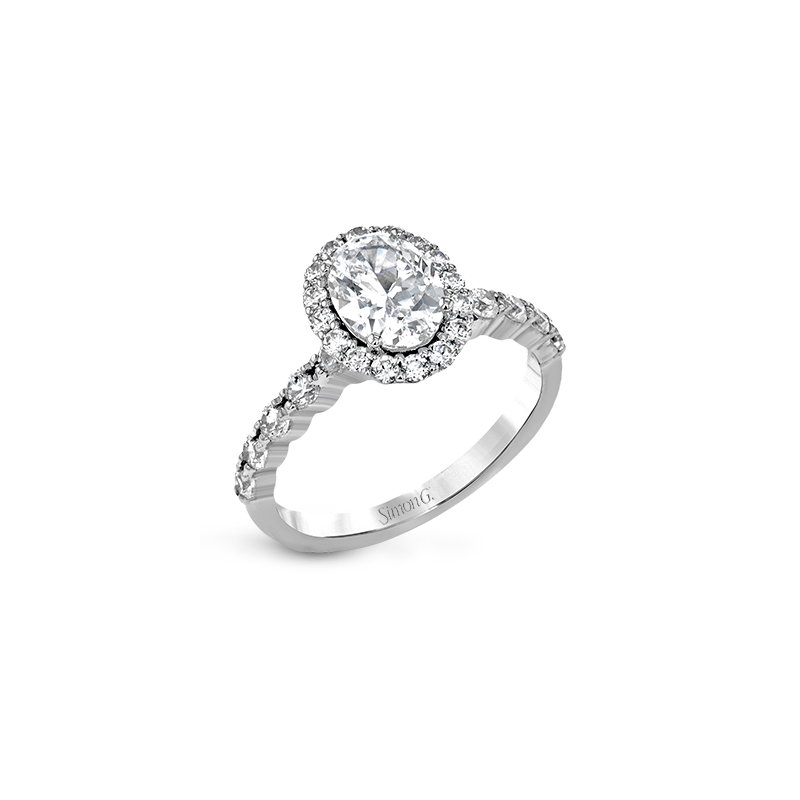 Simon G MR2878 ENGAGEMENT RING